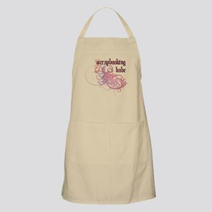 Scrapbooking Babe BBQ Apron