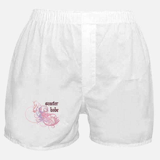 Scooter Babe Boxer Shorts