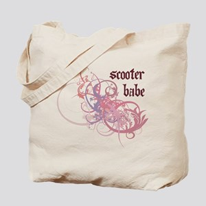 Scooter Babe Tote Bag