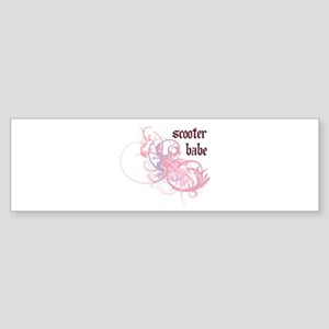 Scooter Babe Bumper Sticker