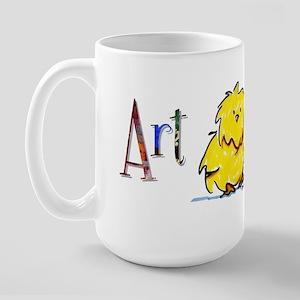 Art Chick Large Mug