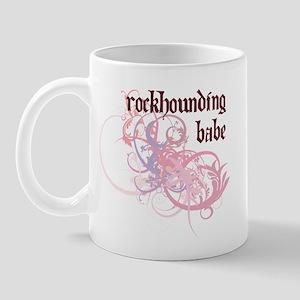 Rockhounding Babe Mug