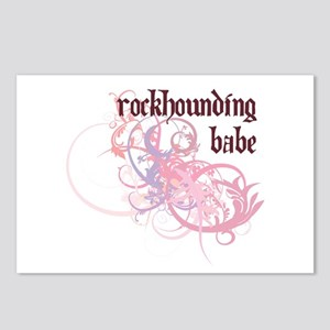 Rockhounding Babe Postcards (Package of 8)