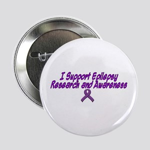 """I support Epilepsy research and awareness 2.25"""" Bu"""