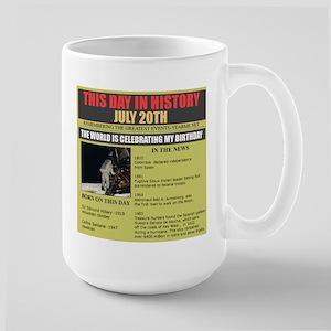 july 20th-birthday Large Mug