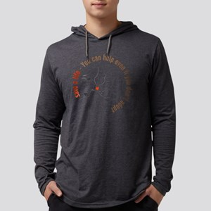 save a life - You can help eve Long Sleeve T-Shirt