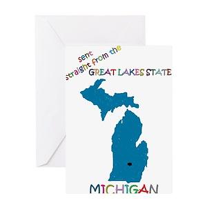 Lake michigan greeting cards cafepress m4hsunfo