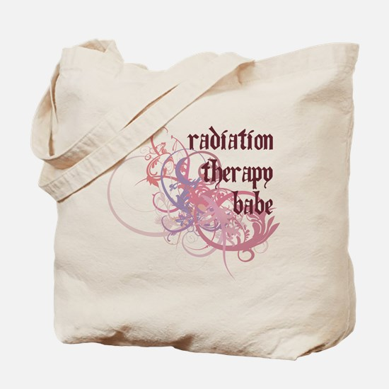 Radiation Therapy Babe Tote Bag