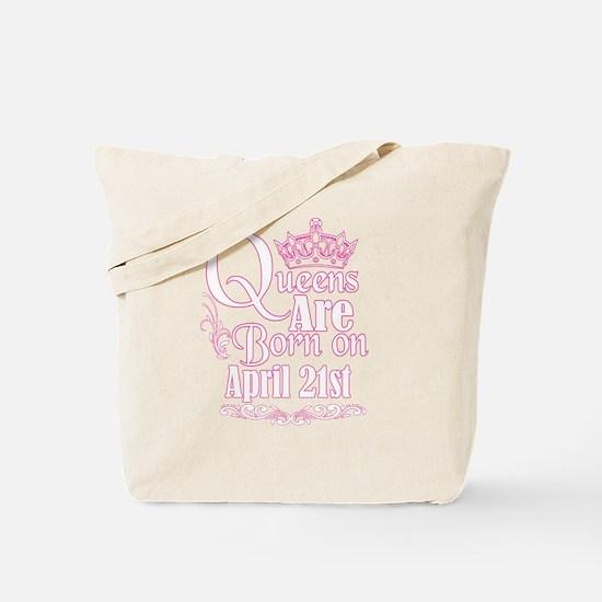 Unique April women Tote Bag
