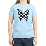 Checkered Butterfly Women's Light T-Shirt