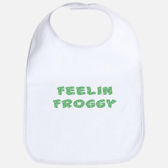 Feelin Froggy Bib