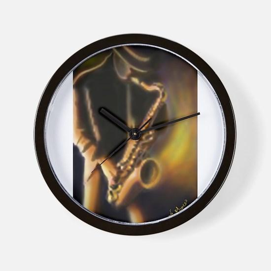 Unique Saxophone Wall Clock
