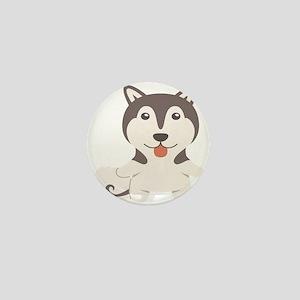 Alaskan Malamute Gift Idea Mini Button