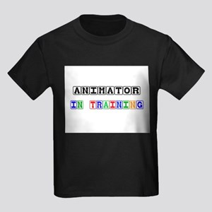 Animator In Training Kids Dark T-Shirt