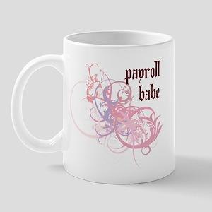 Payroll Babe Mug