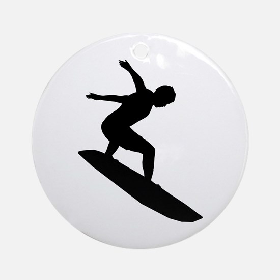 Surfing Keepsake (Round)
