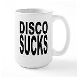 Disco Sucks Large Mug