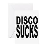 Disco Sucks Greeting Card