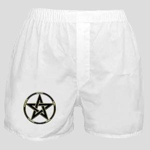 Earth, Air & Fire Pentagram Boxer Shorts
