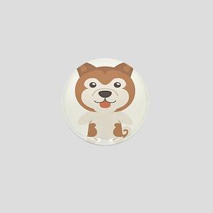 Akita Gift Idea Mini Button