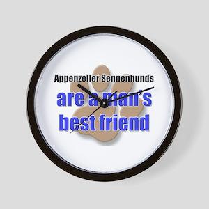 Appenzeller Sennenhunds man's best friend Wall Clo