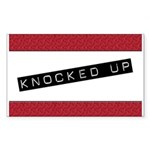 Knocked Up Rectangle Sticker 10 pk)