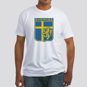 Sverige Fitted T-Shirt