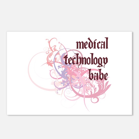 Medical Technology Babe Postcards (Package of 8)