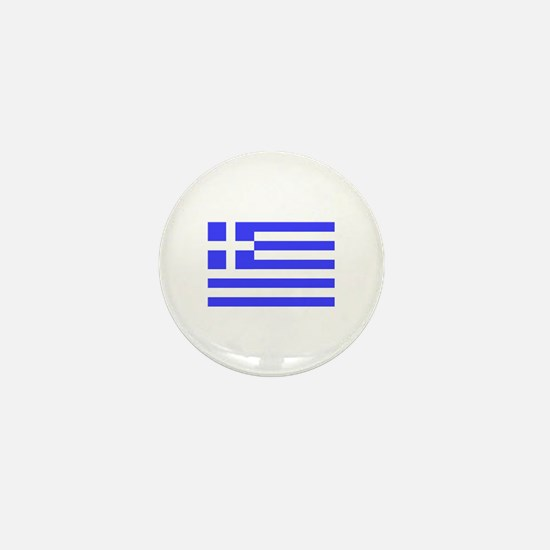Greek Flag Mini Button