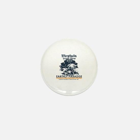 Unique Virginia Mini Button