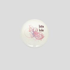 Latin Babe Mini Button