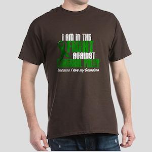 In The Fight Against CP 1 (Grandson) Dark T-Shirt