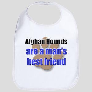 Afghan Hounds man's best friend Bib