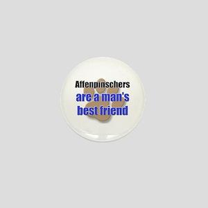 Affenpinschers man's best friend Mini Button