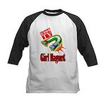 Girl Magnet Kids Shirt Kids Baseball Jersey