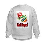 Girl Magnet Kids Shirt Kids Sweatshirt
