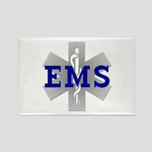 EMS Star of Life Rectangle Magnet (10 pack)