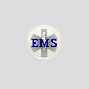 EMS Star of Life Mini Button