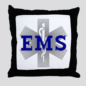 EMS Star of Life Throw Pillow