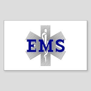EMS Star of Life Rectangle Sticker