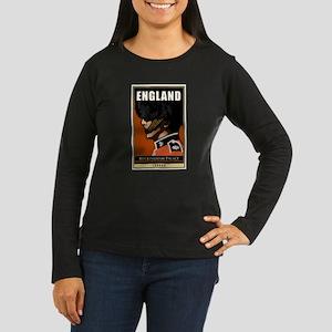 England Women's Long Sleeve Dark T-Shirt