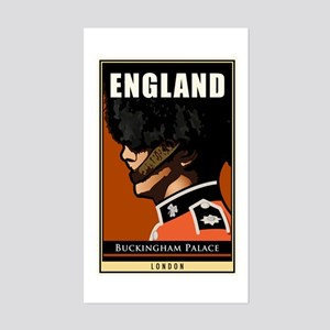 England Rectangle Sticker