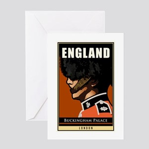 England Greeting Card