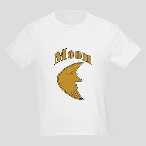 Moon Face Kids T-Shirt