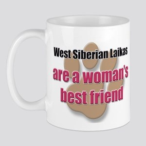 West Siberian Laikas woman's best friend Mug