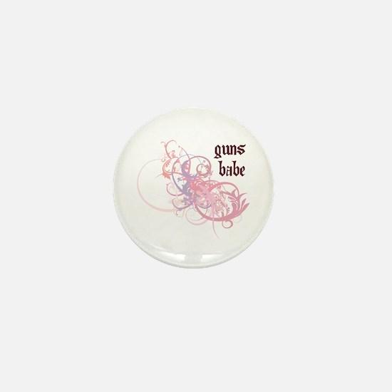Guns Babe Mini Button