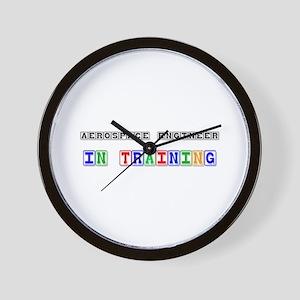 Aerospace Engineer In Training Wall Clock