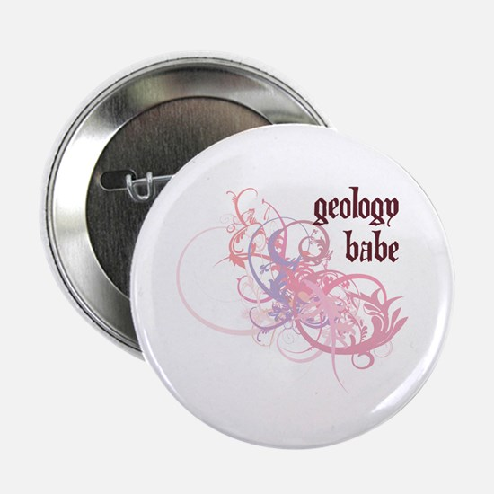 """Geology Babe 2.25"""" Button"""