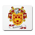 Randolph Family Crest Mousepad