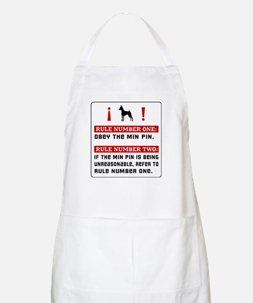 Min Pin - House Rules BBQ Apron
